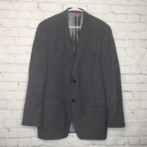 Alfani slim fit gray suit jacket size 42L